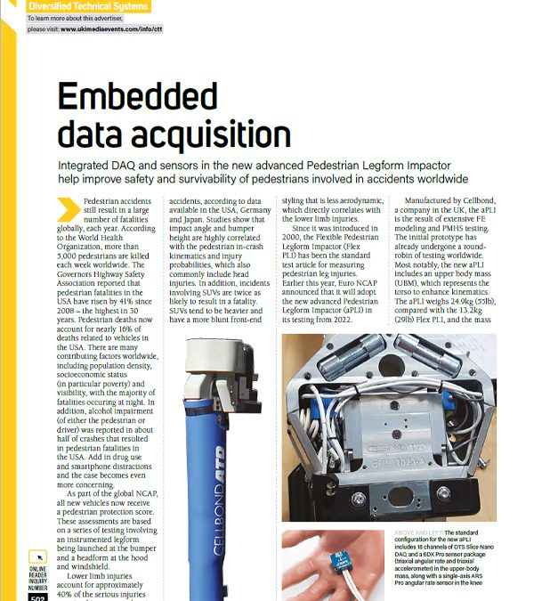 Crash Test Magazine – Embedded Data Acquisition