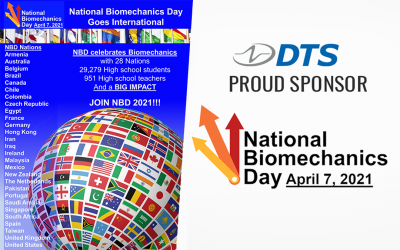 DTS Proud Sponsor of National Biomechanics Day 2021